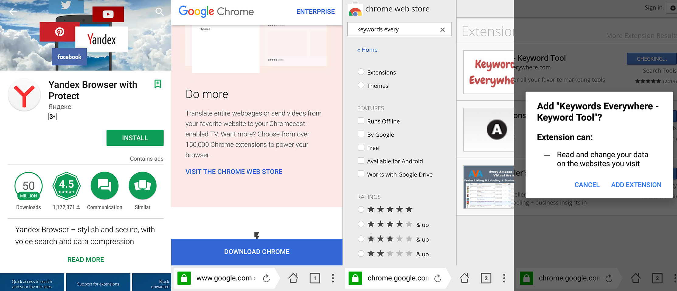 how install google chrome browser
