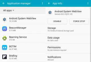 android system webview 320x220 - What is the use of Android System Webview