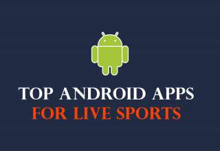 android apps for live sports streaming 320x220 - 10 Best Android apps for live sports 2019 | Live Sports Streaming Android
