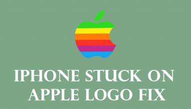 iphone stuck on apple logo fix 384x220 - iPhone stuck on Apple Logo fix | iPhone not turning on after apple logo