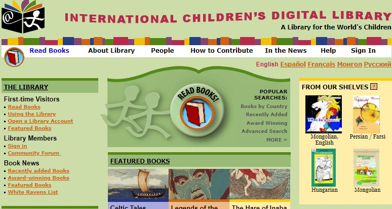 12 International Digital Childrens Library - Best sites to download PDF Books for free