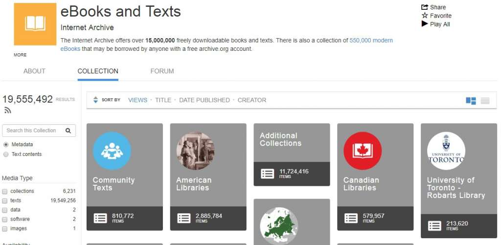 13 eBooks and Text Archives 1024x501 - Best sites to download PDF Books for free
