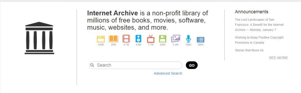 19 Internet Archive 1024x318 - Best sites to download PDF Books for free