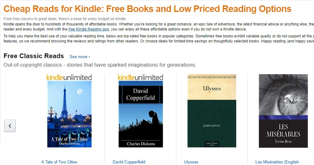 21 Amazon Cheap Reads for Kindle - Best sites to download PDF Books for free
