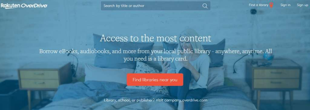 22 Overdrive 1024x365 - Best sites to download PDF Books for free