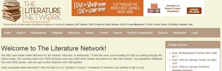 6 The literature network - Best sites to download PDF Books for free