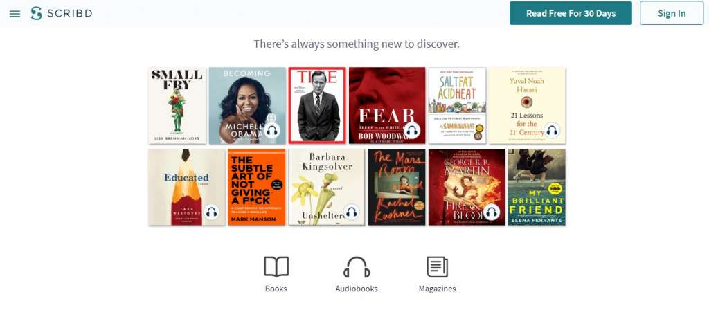 8 scribd 1024x448 - Best sites to download PDF Books for free