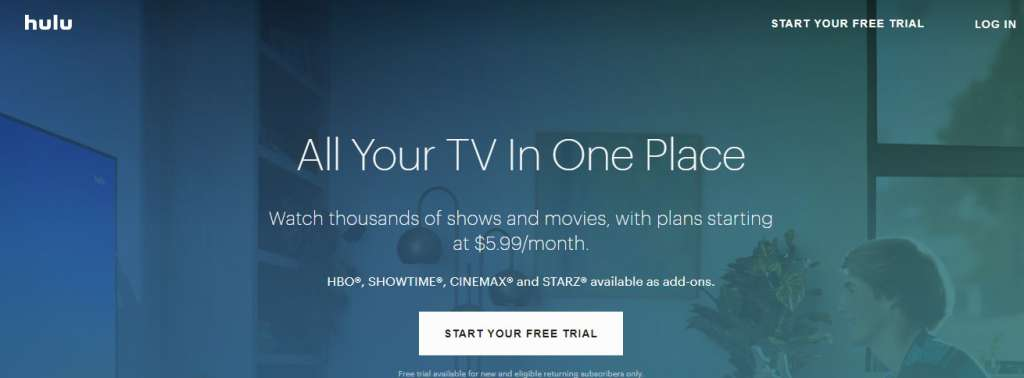 25 hulu 1024x378 - Best websites for watching movies online for free