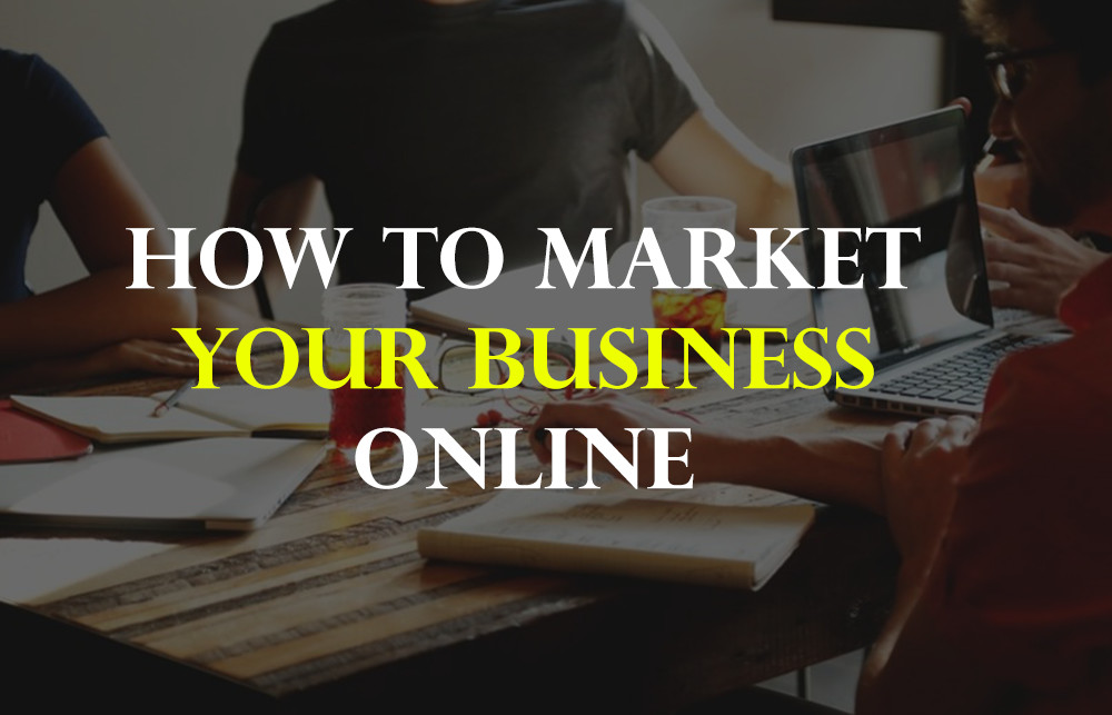 how to market your business online - Homepage